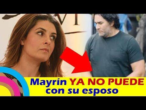 Mayrín Villanueva YA NO PUEDE con Eduardo Santamarina por SU SOBREPESO