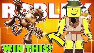 [FREE PRIZE] SHOULDER MONKEY Virtual Item | Roblox Action Series 4 Toy - Design It: Safari