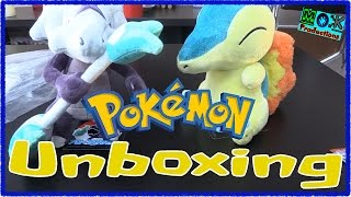 Pokemon: Plush Unboxing: Cyndaquil & Alolan Marowak