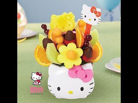 Hello kitty edible arrangement