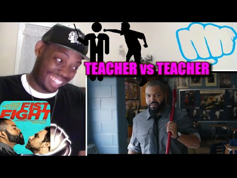 "Fist Fight - Official Trailer ""Ice Cube Charlie Day Film"" REACTION!!!"