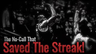 The MISSED CALL That SAVED LeBron's Finals Streak!