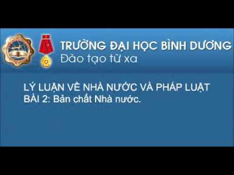 LAW0243 - Lý Luận Về Nhà Nước Và Pháp Luật - Bai 02 BAN CHAT NN Ths Nguyen Hoang Giao