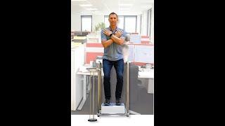 SiWAVE MULTI Vibrationsgerät von Stewafit GmbH für die Stärkung der Beine. Info www.siwave.eu