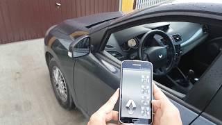 Megane 3 phone remote (bluetooth)