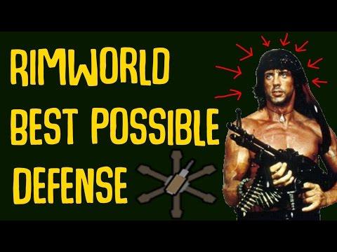 Best Possible Defense in Rimworld! Psychological Warfare