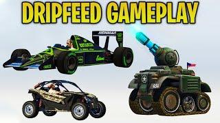 GTA Online Casino Heist DLC - ALL UNRELEASED VEHICLES GAMEPLAY + CUSTOMIZATION (Drip Feed Cars)