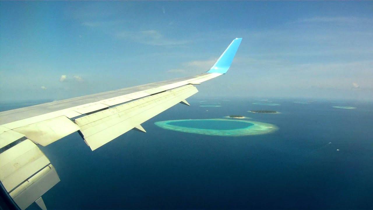 Aeroporto Male Maldive : Landing in male maldives youtube