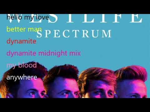 Download westlife - spectrum full album Mp4 baru