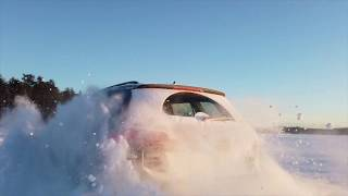 Pushing a 2017 Volkswagen Golf sportwagen 4motion to its limit on and off road