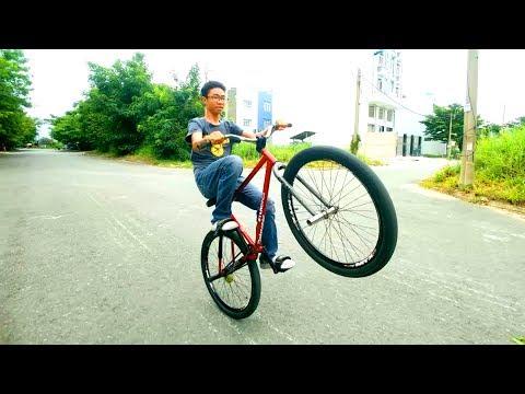 FGFS - Wheelie: Hướng Dẫn Bốc đầu Xe đạp Chạy 1 Bánh