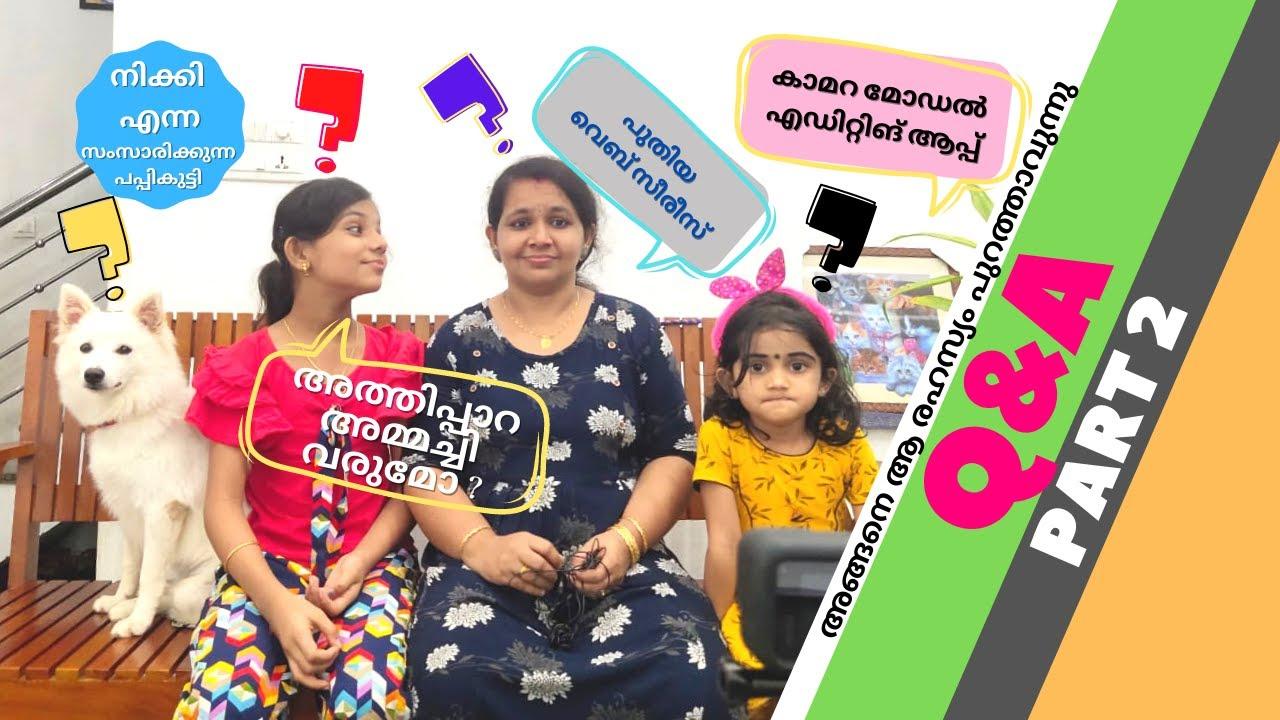 അങ്ങനെ ആ രഹസ്യം നിക്കി പറയുന്നു | Q&A Part 2 | ചോദിക്കൂ പറയാം | DEVU DIYA FAMILY