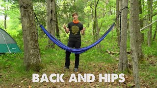 Hammock Yoga Sequence - Back and Hips