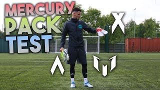 ADIDAS MERCURY PACK BOOT TEST! X, ACE & MESSI!