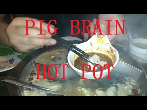 Pig Brain Hot Pot In Chinatown Nine Ting