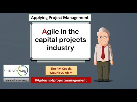 Can we use agile/Agile in capital, or construction projects?