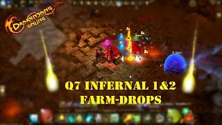 Drakensang online Q7 INFERAL 1&2 FARM-DROPS
