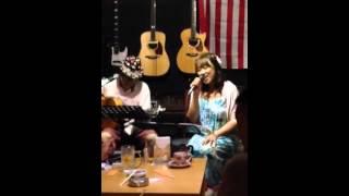 """2014.08.03 """"火花祭り@SCORE"""" マスター純さんと聖子ちゃんメドレーを演..."""