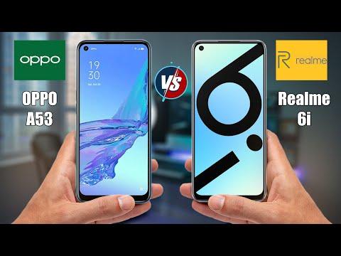 OPPO A53 vs Realme 6i   Full Comparison