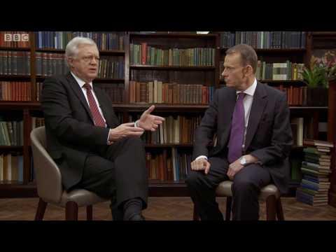 Brexit Secretary David Davis speaks to Andrew Marr - 24/09/2017