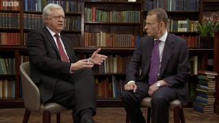 Brexit Secretary David Davis speaks to Andrew Marr - 24/09/2017