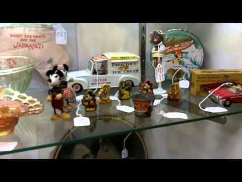 Vintage toys and antique toys from our antiques mall at Gannon's Antiques & Art