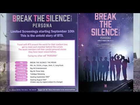 Break The Silence 'PERSONA' The Movie!
