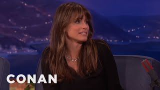 "Amanda Peet Hated ""Game Of Thrones"" At First  - CONAN on TBS"