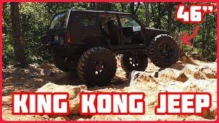 """King Kong Jeep на 46"""" колесах (Строим Wrangler на 35х колесах. Часть 4.)"""