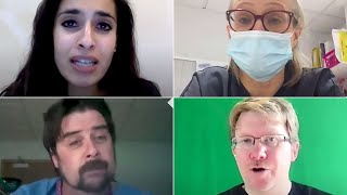 video: 'A sense of impending doom': NHS doctors on what it's like to be on the Covid-19 frontline right now