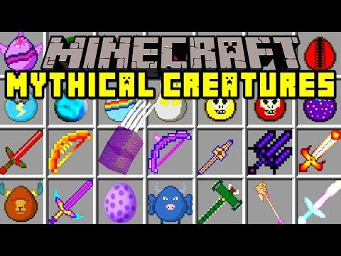 Minecraft MYTHICAL CREATURES MOD! | SPIKEZILLA BOSS! WORLDS STRONGEST BOSSES! | Modded Mini-Game