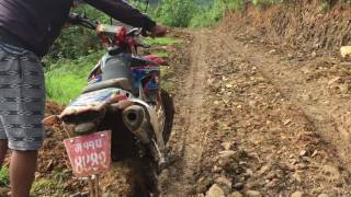 Dirt bike Nepal Adventure Pokhara to panchase off-road XZ CROSSFIRE 250 RR