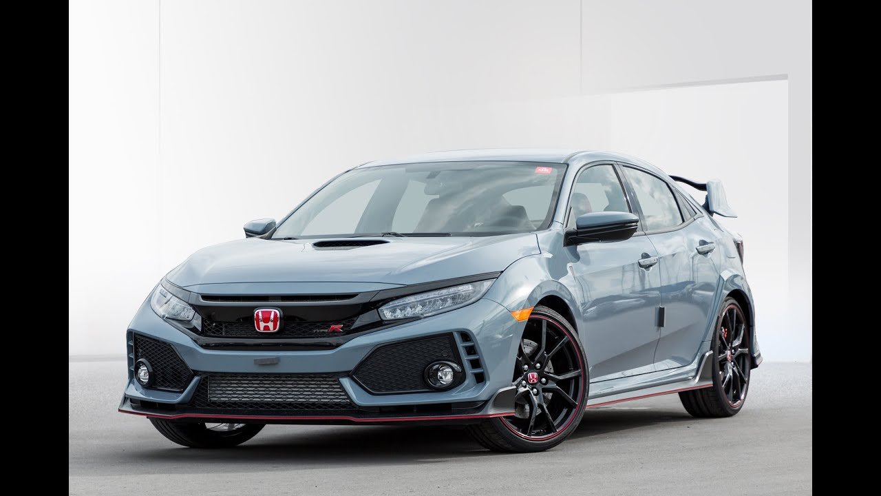 2019 Honda Civic: Type R - Sonic Grey Pearl | WHITBY ...