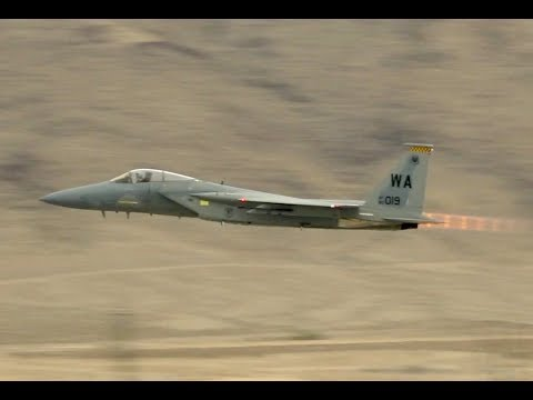 2017 Aviation Nation At Nellis AFB - USAF War Fighter Demo