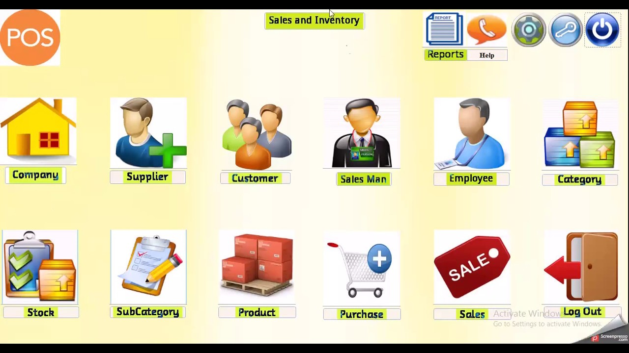 inventory management system  microsoft access