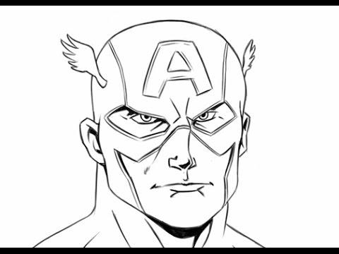 Captain America Captain America Drawing