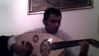 Oud Improvisation with quarter tones and microtones by Habib Dergal