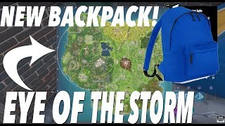 New backpack! The backpack shows where the next circle location is ...