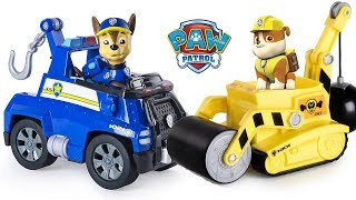 PAW PATROL RUBBLE'S STEAM ROLLER, PAW PATROL CHASE'S TOW TRUCK, PAW PATROL RUBBLE POST OFFICE, SKYE
