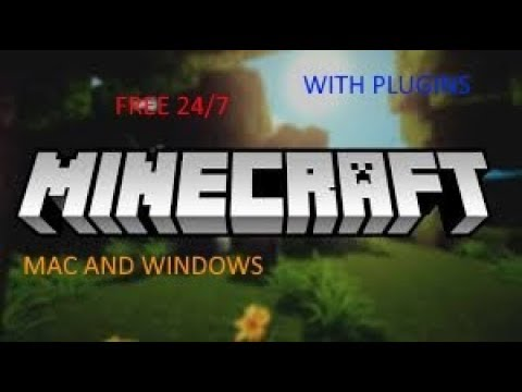 Free 24/7 minecraft server with plugins! (Windows and Mac)