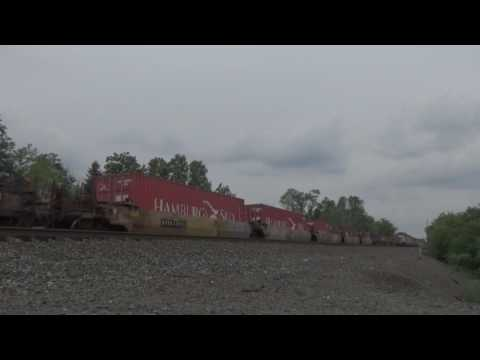 (HD) June 2017 Norfolk Southern and CSX action