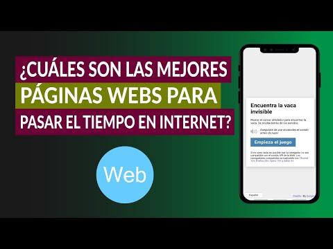 ¿Cuáles son las Mejores Páginas Webs para Pasar el Tiempo en Internet?