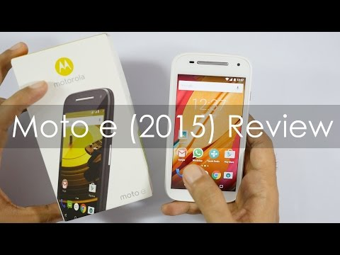 Moto E 2nd Gen (2015 Model) Review