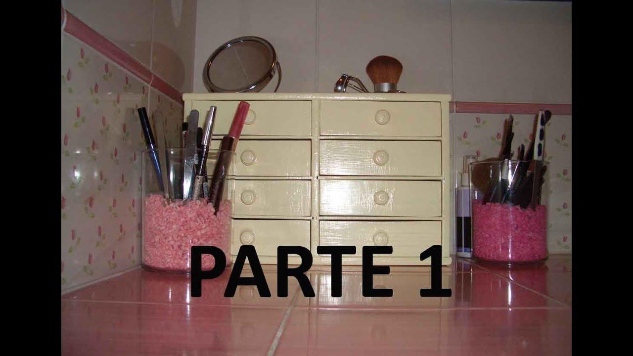 Come restaurare una vecchia cassettiera -PARTE 1: LA CEMENTITE ...