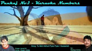 Tu Meri Adhuri Pyas Pyas - Karaoke Sing along Song - By Pankajno1