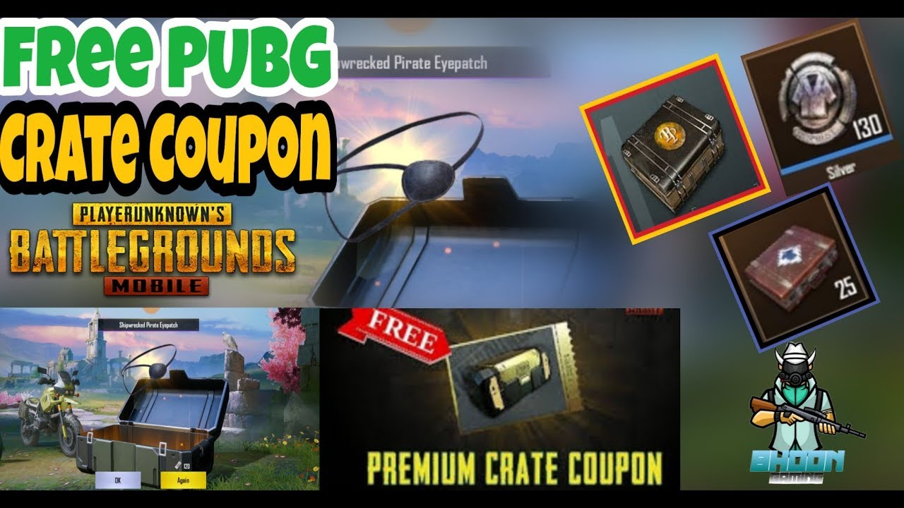 How to Get Free PUBG premium Crate Coupon| And Crate Open Germany Server|Bhoon Gaming