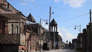 часть 3. Гюмри Армения. Цены на коньяк в Армении. Персиковый сад