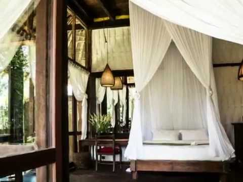 Bambu Indah Resort - Traditional Architecture  with Ethnic Interior Design in Indonesia
