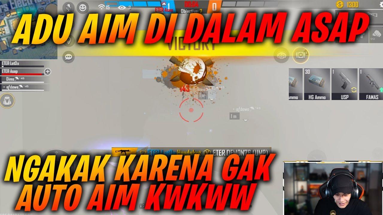 Gw , Fdw , Asep , Dims VS WNL Demon , Maskeh , Venom , Boys !! CS Mode ASAP Auto Buta MAP wkwkkw