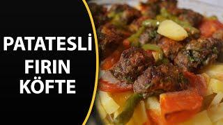 Fırında köfte patates tarifi - Fırın yemekleri